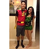 Robin and Poison Ivy