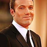 Ben Affleck was one of the major Hollywood stars in attendance at the August 2006 Venice Film Festival.