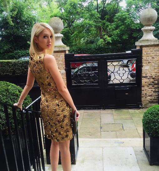 Princess Maria-Olympia of Greece Michael Kors Dress 2016