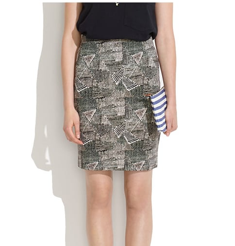 Madewell's printed pencil skirt ($68) is finished in a unique batik print that's perfect for pairing with Summer sandals.