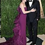 Ben Affleck and Jennifer Garner arrived at Vanity Fair's Oscar after-party in LA.