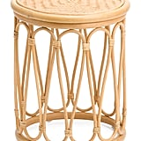 Rattan and Bamboo Stool