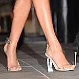 Lucite Heels