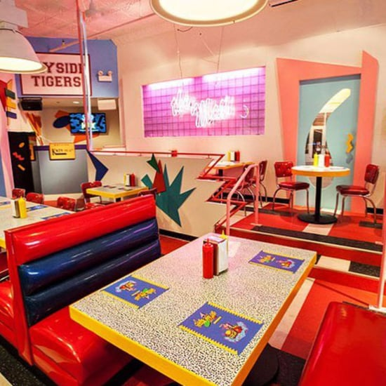 Saved by the Bell Restaurant in Los Angeles