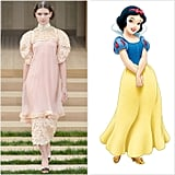 Snow White Wearing Chanel Couture