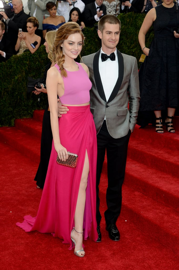 Emma Stone and Band of Outsiders at the 2014 Met Gala