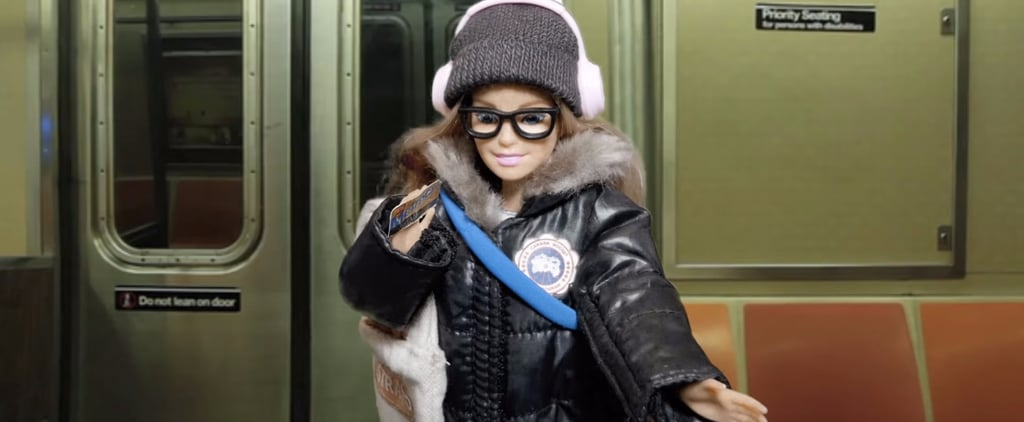 Commuter Barbie Is the Hilarious Millennial Shutting Down Cat-Callers in Style