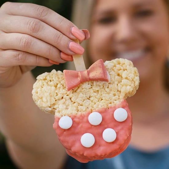 Disney World Rose Gold Minnie Mouse Food 2019