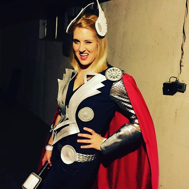 Thor Halloween Costumes  sc 1 st  Popsugar : lady costume ideas  - Germanpascual.Com