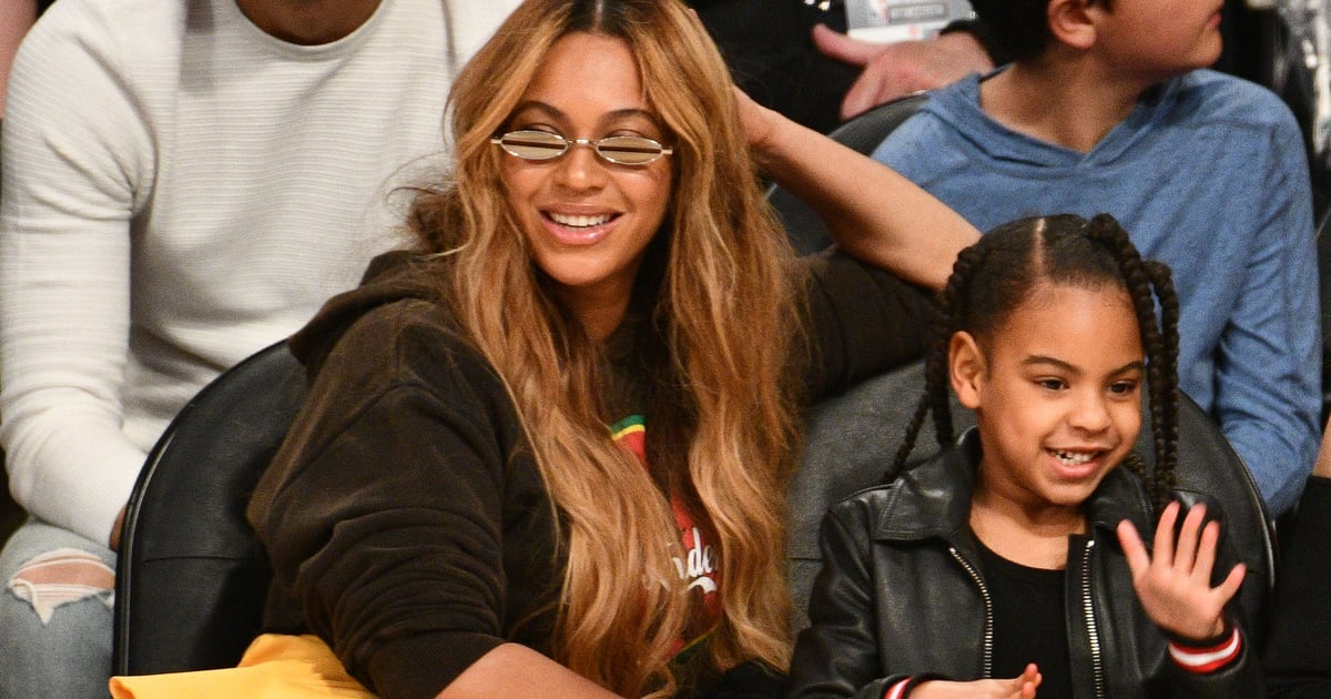 Beyoncé and Blue Ivy Got Mother-Daughter Manicures, and We'd Give Anything to Be Invited.jpg