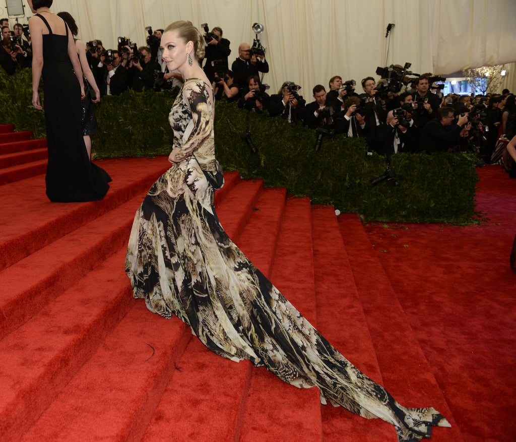 Amanda Seyfried at the Met Gala 2013.