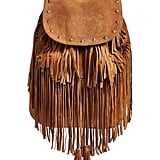 Maison Scotch Fringed Suede Backpack ($229)