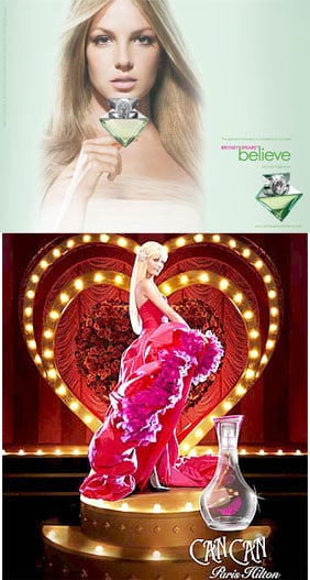 Britney and Paris Advertise with Magic and Feathers
