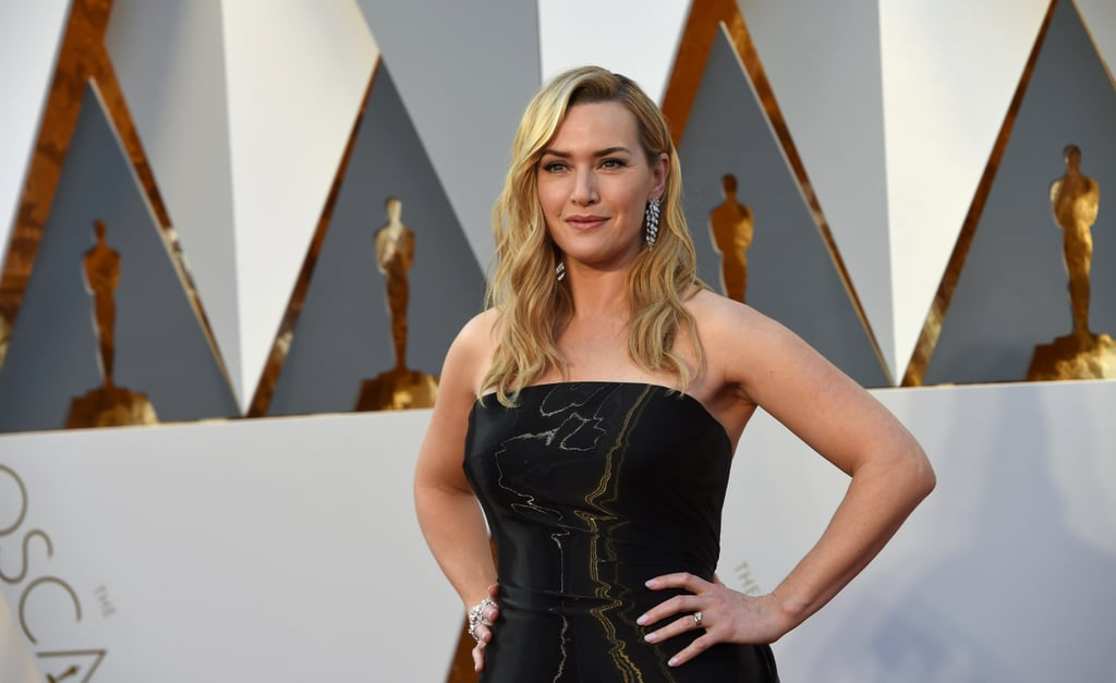 Kate Winslet in Ralph Lauren Gown at 2016 Oscars