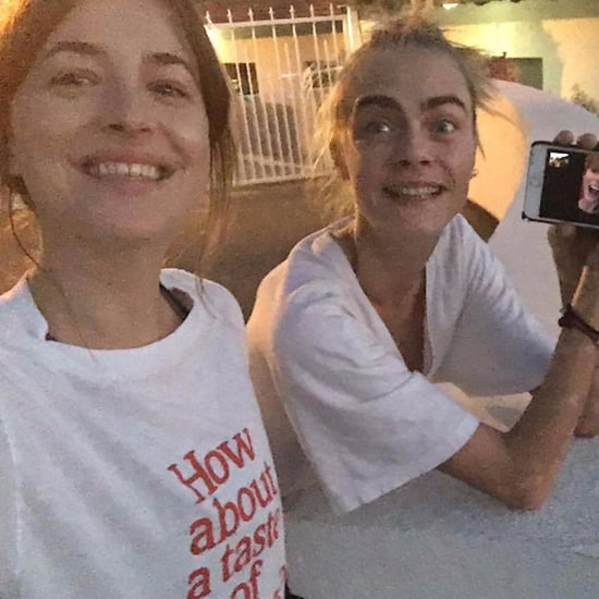 Cara Delevingne and Dakota Johnson FaceTime Taylor Swift