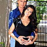 In 2009, Kourtney and Scott split, but soon got back together after Kourtney discovered she was pregnant with their first child. In December 2009, Kourtney gave birth to Mason Disick.