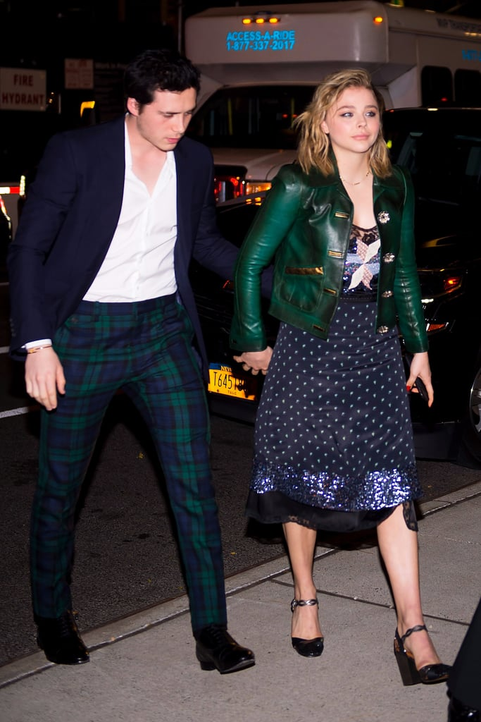If You're Obsessed With Matching Couple Style, Take a Look at Brooklyn Beckham and Chloë Grace Moretz