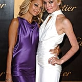 How's this for a blast from the past? Nicole and a blonde Lindsay Lohan stepped out together for a Cartier bash in May 2005.