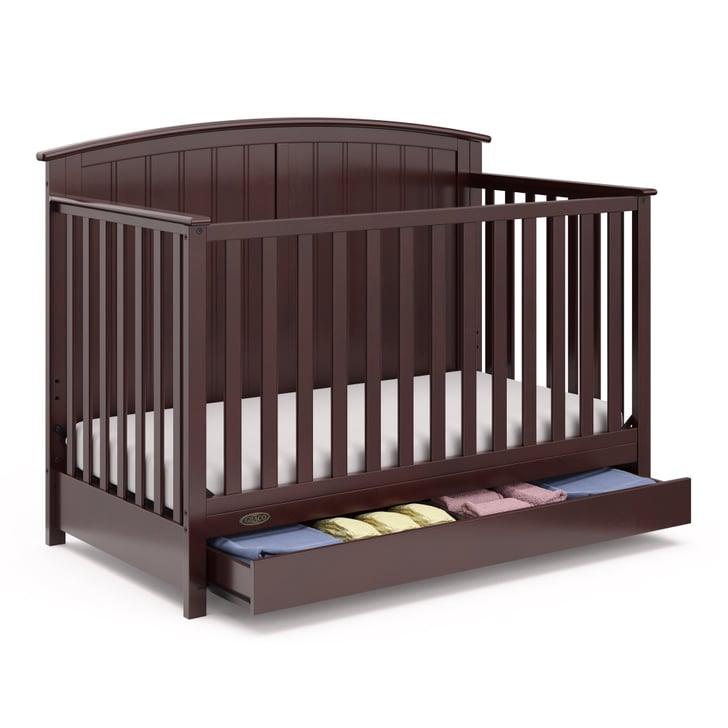 Graco Jasper 4-in-1 Convertible Crib With Drawer | Walmart ...