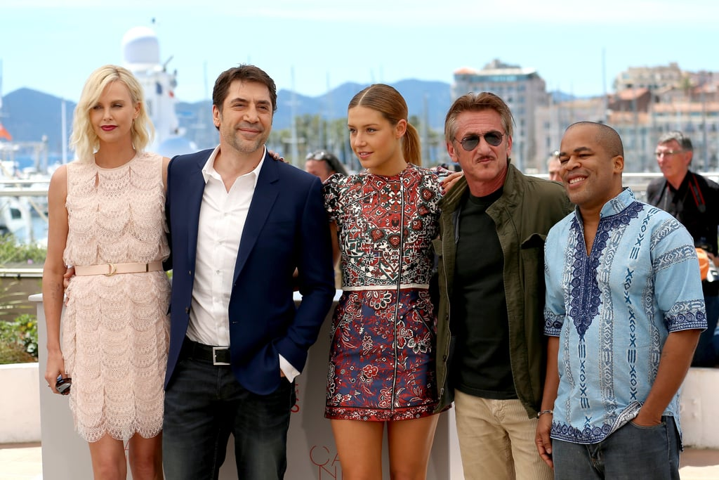 Charlize Theron and Sean Penn reunited at the photo call for their new film, The Last Face, at the Cannes Film Festival in 2016. The former couple, who called off their engagement in June 2015 after nearly two years together, kept their distance while posing for photos with Javier Bardem, Adèle Exarchopoulos, and Jean Reno, and also managed to avoid standing near each other at the movie's red carpet premiere later that evening.
