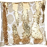 Thro Georgina Giraffe Reversible Sequin Square Throw Pillow ($47)