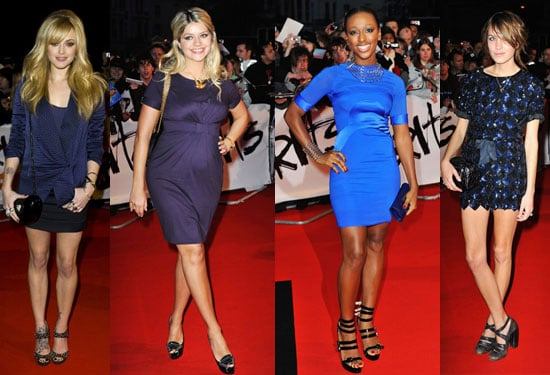Photos of 2009 Brit Awards Red Carpet Including Fearne Cotton, Alexa Chung, Alexandra Burke, Holly Willoughby