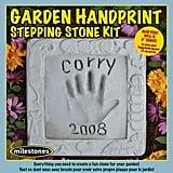 Kids Garden Handprint Stepping Stone Kit