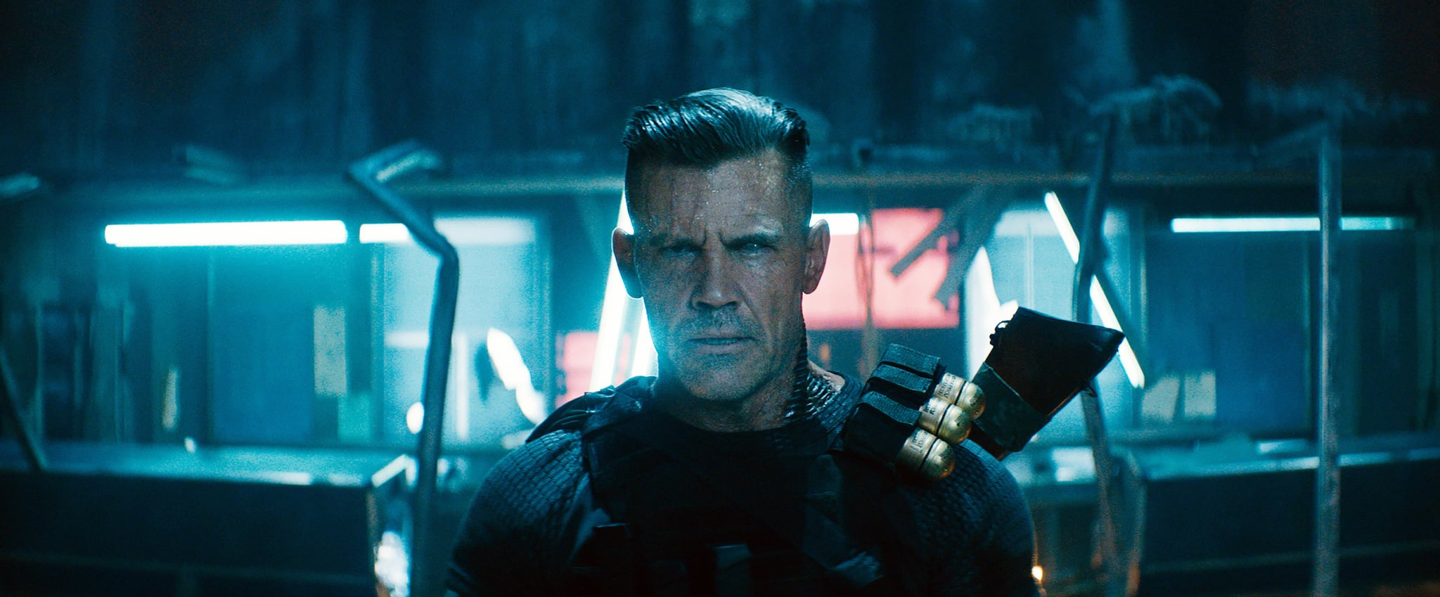 DEADPOOL 2, Josh Brolin as Cable, 2018. TM & Copyright  20th Century Fox Film Corp. All rights reserved./courtesy Everett Collection
