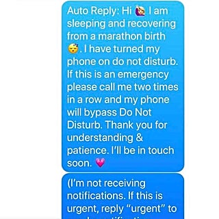 Mom's Text Message Life Hack