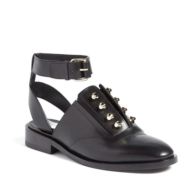 Balenciaga Ankle Strap Oxford Shoes ($795)