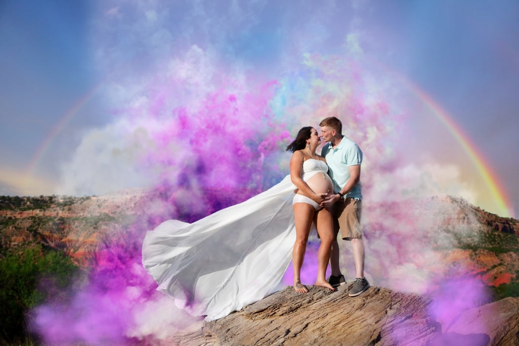 How 1 Mom Got the Ultimate Surprise With This Jaw-Dropping Rainbow Baby Maternity Shoot