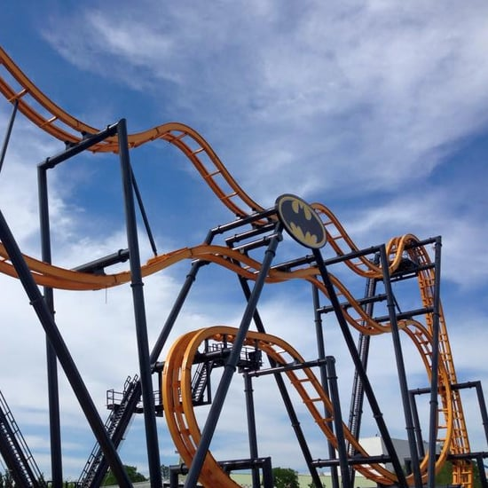 Batman Roller Coaster Six Flags Fiesta Texas