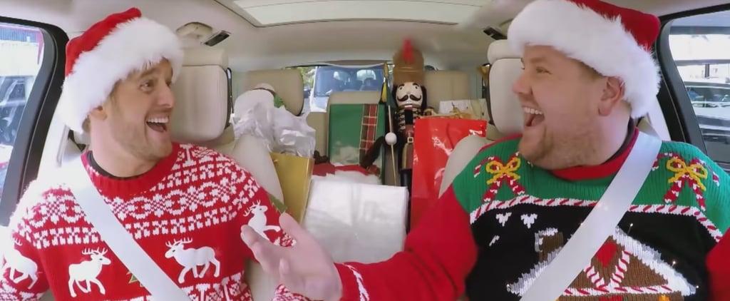 James Corden's Christmas Carpool Karaoke Video 2018
