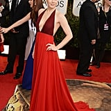 Amy Adams at the Golden Globes 2014