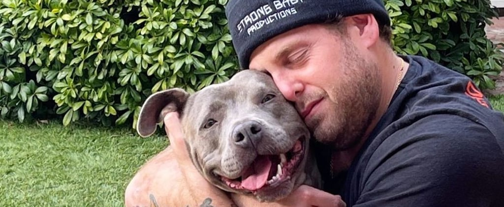 Jonah Hill Rescued a 3-Year-Old Pitbull From Love Leo Rescue