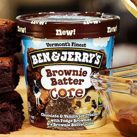 Ben & Jerry's New Core Ice Cream Flavors 2016