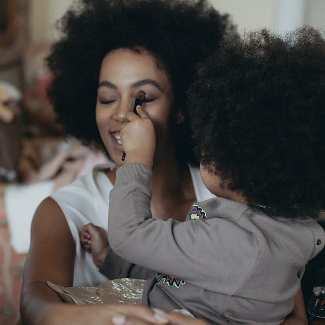 Solange Knowles Shares Instagram Picture of Blue Ivy Carter