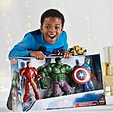 Disney Avengers Iron Man, Hulk, and Captain America Action Figure Gift Set