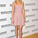 Gwyneth is pretty in pink in Switzerland.