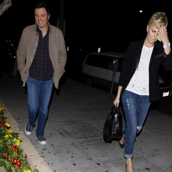 Charlize Theron and Seth MacFarlane Together | Photos
