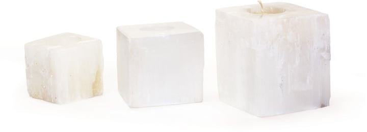 Crystal Stone Votives ($128 for set of 3)
