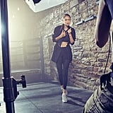 She Sports the Trainers in Campaign Photos For The Brand