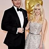 Chris Pratt and Anna Faris Got Goofy at the Oscars