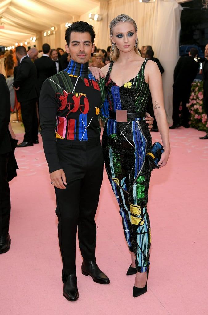 Sophie Turner and Joe Jonas at the 2019 Met Gala