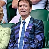 Sir Cliff Richard at Day 1 of Wimbledon