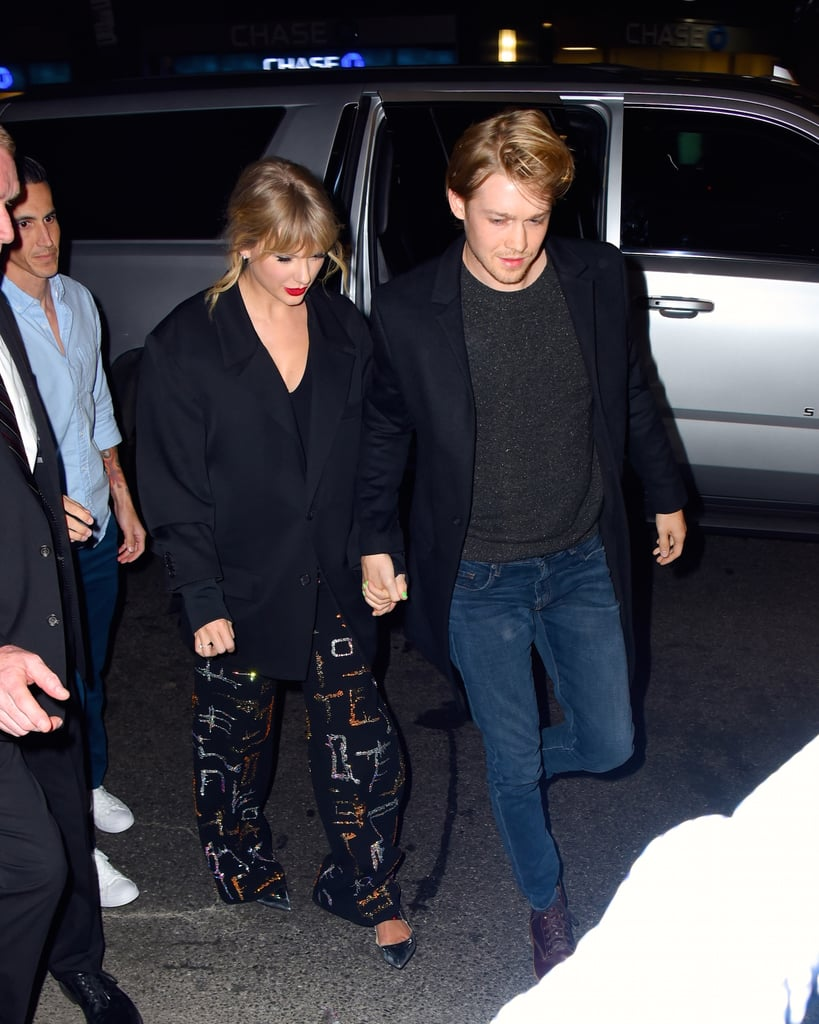 Taylor Swift and Joe Alwyn at the SNL Afterparty in NYC