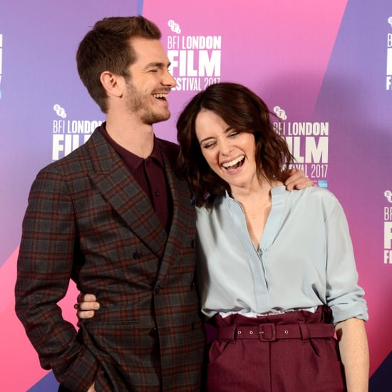 Andrew Garfield and Claire Foy at Breathe Photocall 2017