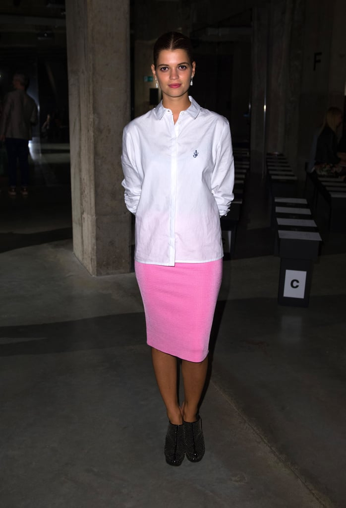Pixie Geldof at Jonathan Saunders