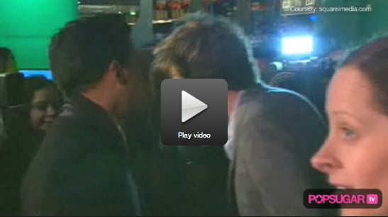 Footage of Robert Pattinson Kissing a Fan on the Red Carpet at the London Premiere of Remember Me