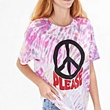 BDG Peace Please Tie-Dye Tee